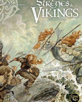 Meerminnen Vikingen 2 Parelmoerschuim