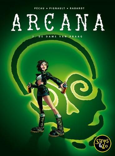 Arcana 2 De dame van Praag