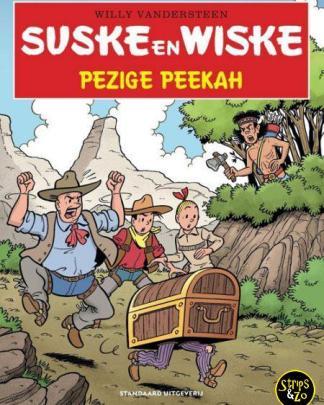 Suske en Wiske in het Kort 22 Pezige Peekah