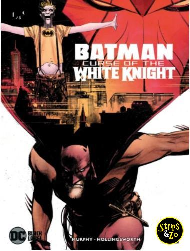 batman Curse of the White Knight 1