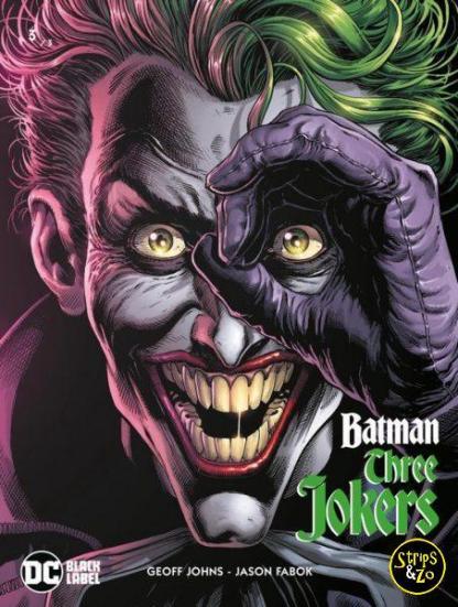 Batman Three Jokers 3 Cover A