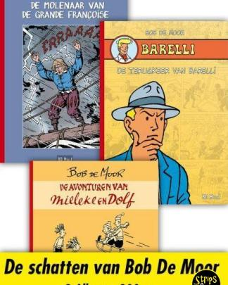 Bob de Moor Collector pack 3 Barelli Mieleke en Dolf