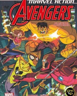 Marvel Action Avengers 4 De levende nachtmerrie