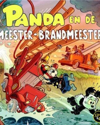 Panda uitg. Cliche 2 Panda en de meester brandmeester
