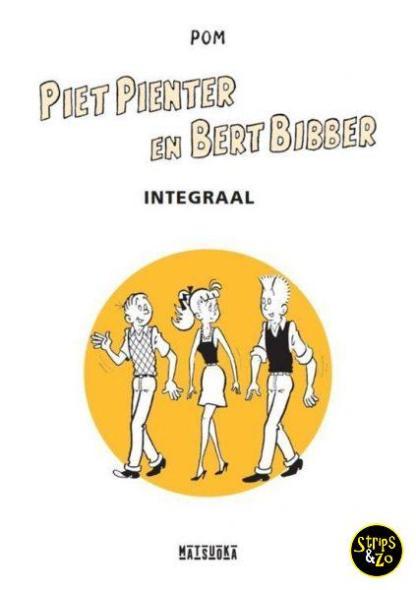 Piet Pienter en Bert Bibber Integraal 6