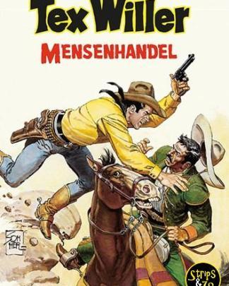 Tex Willer Classics Hum 15 Mensenhandel