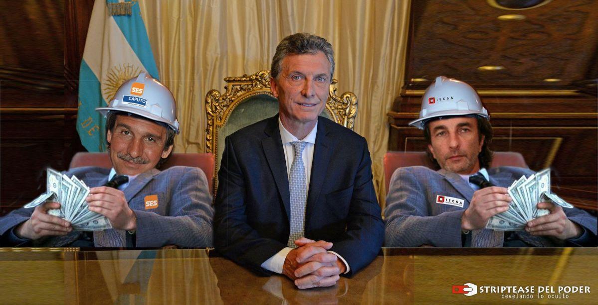 Caputo y Calcaterra Macri: Los nuevos cajeros del poder