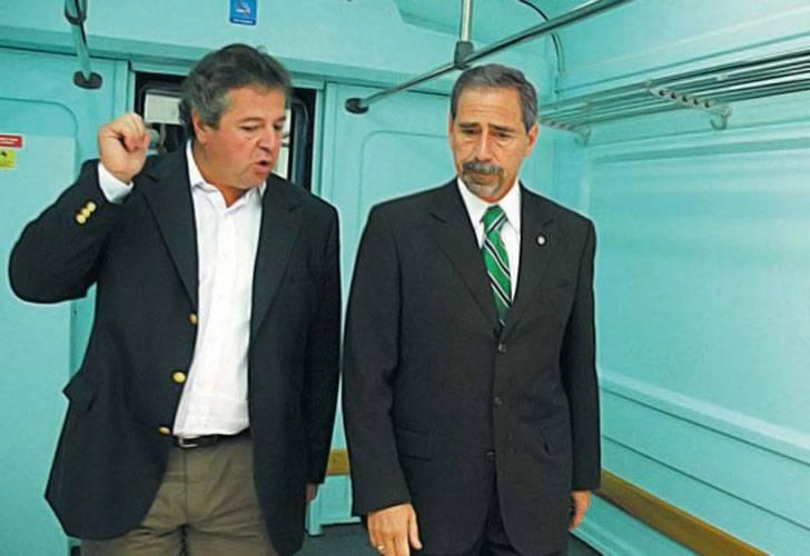Imagen: el empresario Claudio Cirigliano junto a Ricardo Jaime