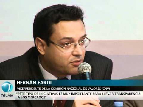 Foto: Hernán Fardi, ex gerente de los Fondos de Garantía de Sustentabilidad del ANSES y propietario de las acciones que luego compró el ANSES.
