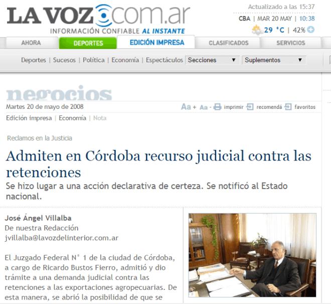 Archivo de La Voz