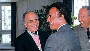 Carlos Menem y Bulgheroni