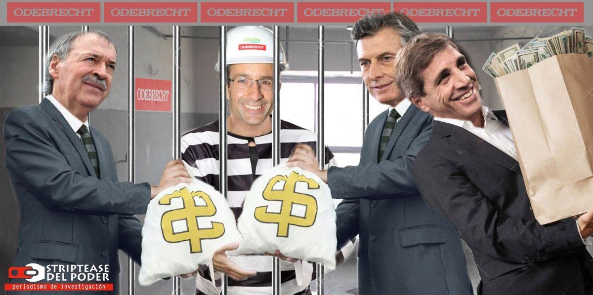 Macri, Schiaretti y Caputo traspasaron 260 millones de dólares del ANSES a Odebrecht