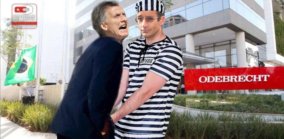 Cómo Odebrecht tiene al presidente Macri agarrado de las...