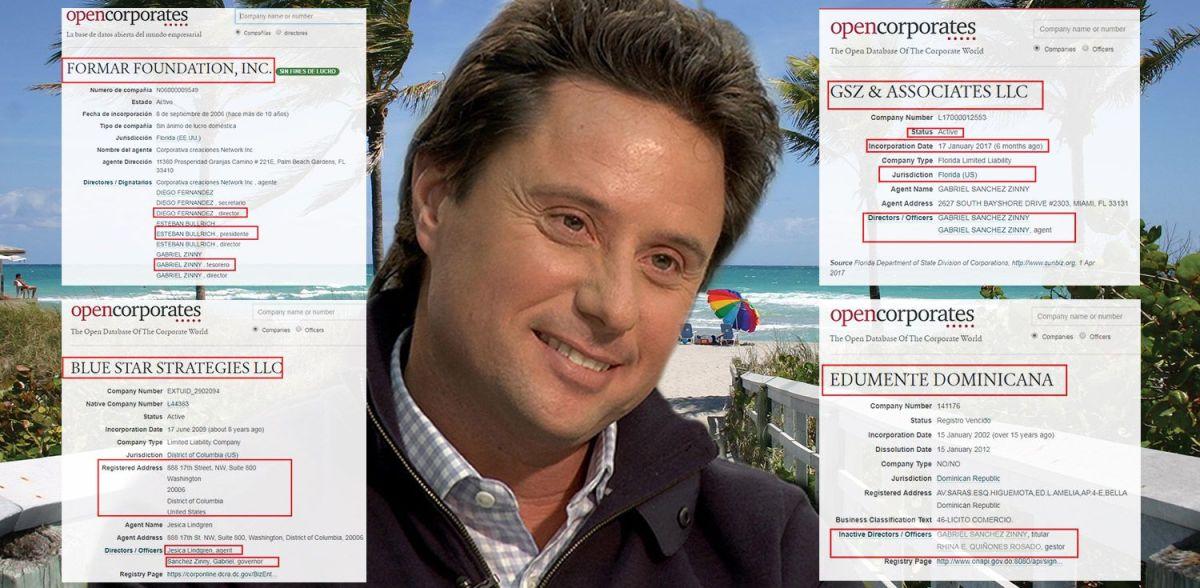 El nuevo titular de Educación de Vidal, Sánchez Zinny, tiene 8 compañías offshore