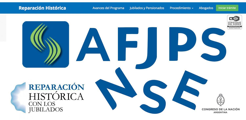 ANSES, AFJP,JUBILADOS,REPARACION HISTORICA DE JUBILADOS