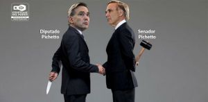 Pichetto, Macri, Kirchner