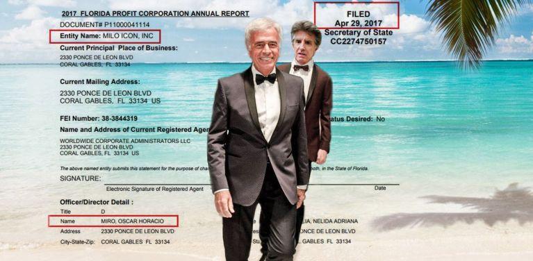 Horacio Miró, De la Sota, coimas, Angelo Calcaterra, empresas offshore, testaferro