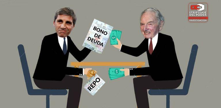 Luis Caputo, Deuda Externa, Banco, Macri, REPO