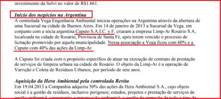 Nicolas Caputo, Nicky Caputo, Mauricio Macri, Solví, Vega, Basura, recolección de basura Córdoba, Corrupción