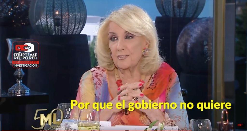 Video blooper de Mirtha Legrand: la justicia es independiente pero pone presa a los que Macri quiere y el mensaje del Papa