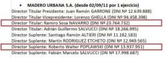 Macri, De la Sota, Álvarez, Ángelo Calcaterra, Madero Urbana, Karsten, Horacio Miró, offshore, Eurnekian, Lava Jato