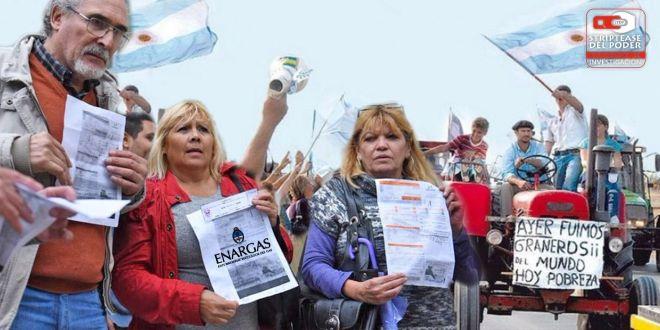 resolución 125, megatarifazo del gas, gas natural, gobierno nacional, macri, vaca muerta, petroleras, Martín Lousteau, Cristina Fernández de Kirchner, sociedad rural
