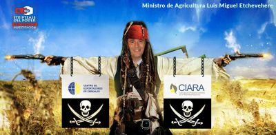 Gobierno, macri, retenciones, resolución 125, Agricultura Luis Miguel Etchevehere, CIARA (Cámara de la industria Aceitera de la RA) y CEC (Centro Exportadores Cereales)