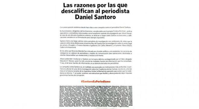 Clarín, La Nación, Periodistas, Daniel Santoro, Agente, DEA, Marcelo D'Alessio, opinión pública, Narcotrafíco