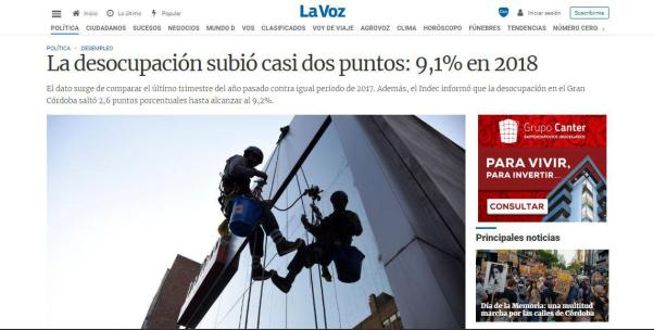 córdoba, empleo, pobreza, INDEC, Mestre, Schiaretti, De la Sota, macri, Desocupacion