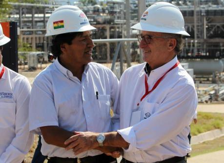 Némesis, Evo Morales, golpe de estado, Bolivia, EEUU, Repsol, Petróleo