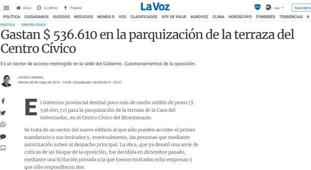 De la Sota, Juan Schiaretti, obra pública, campaña, constructora, corrupción, empresas constructora