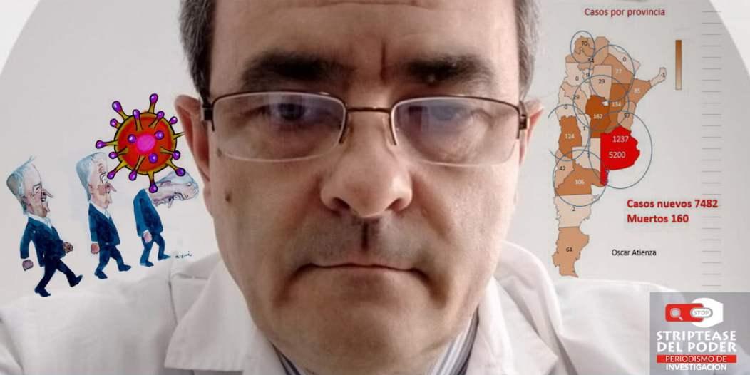 Coronavirus, Covid 19, Córdoba, médicos y enfermeros, sindicatos , testeos, Schiaretti, Peronismo, Hospitales, istanciamiento Social,Preventivo y Obligatorio (DSPO), cuerentena, contagios, Oscar Atienza