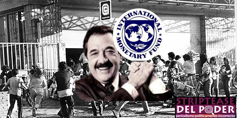 Mala praxis FMI, deuda, Alfonsín, Plan Austral