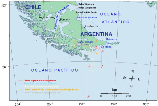 Derecho del Mar, 1982, Malvinas, Chile Reino Unido