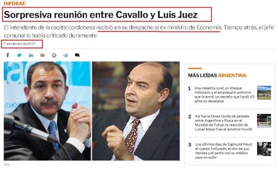 Luis Juez, el gran saltinbanquin de la política