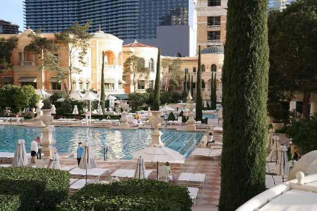 Piscine Bellagio Hotel Las Vegas