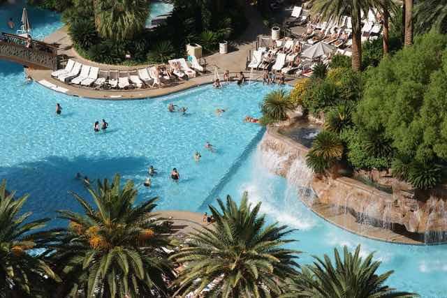 Piscine Hotel Mirage