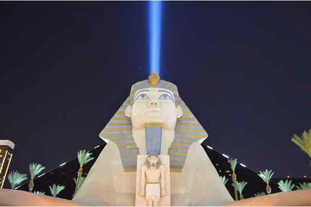Sky Beam Luxor Hotel Las Vegas