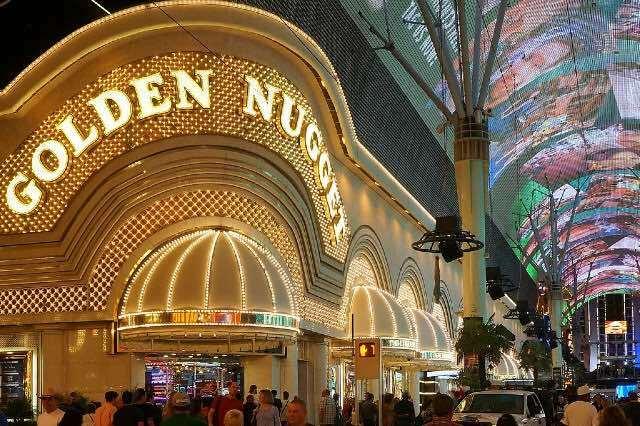 Golden Nugget Casino Fremont Street Las Vegas 640426