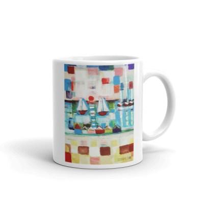 Image Sail-boats Two - Coffee Mug