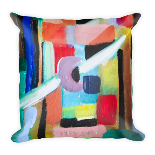 Image of Tribal - square pillow