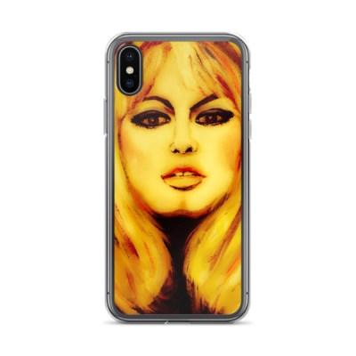 Bridget Bardot - iPhone Case