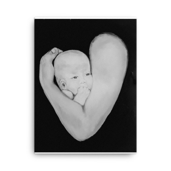 Image of Fathers Love - Canvas by artist Deborah Kalavrezou