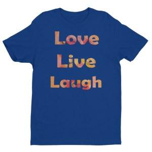 Image of LiveLoveLaugh - by our own artist Deborah Kala(blue)