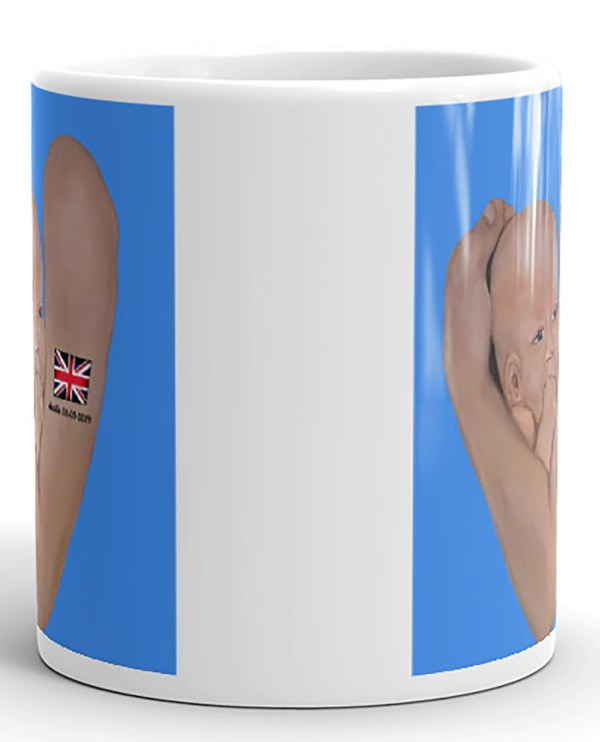 Image of mockupArchieMugFront-view_11oz By Stripy Dot