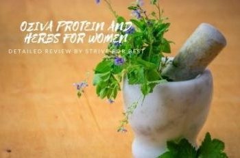 Oziva Protein and Herbs For Women Review