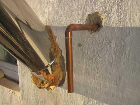 Фото 9. Аварійний вихід води наззовні