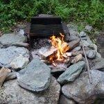 Daytime Campfire