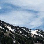Snowy Lake Tahoe Mountain