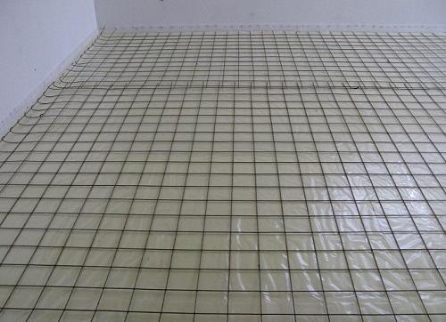 Бетон пол сетка тощий бетон купить химки